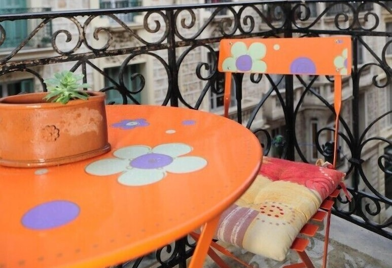 Le Romantica Dante - 5 Stars Holiday House, Nice, Appartement, Balcon
