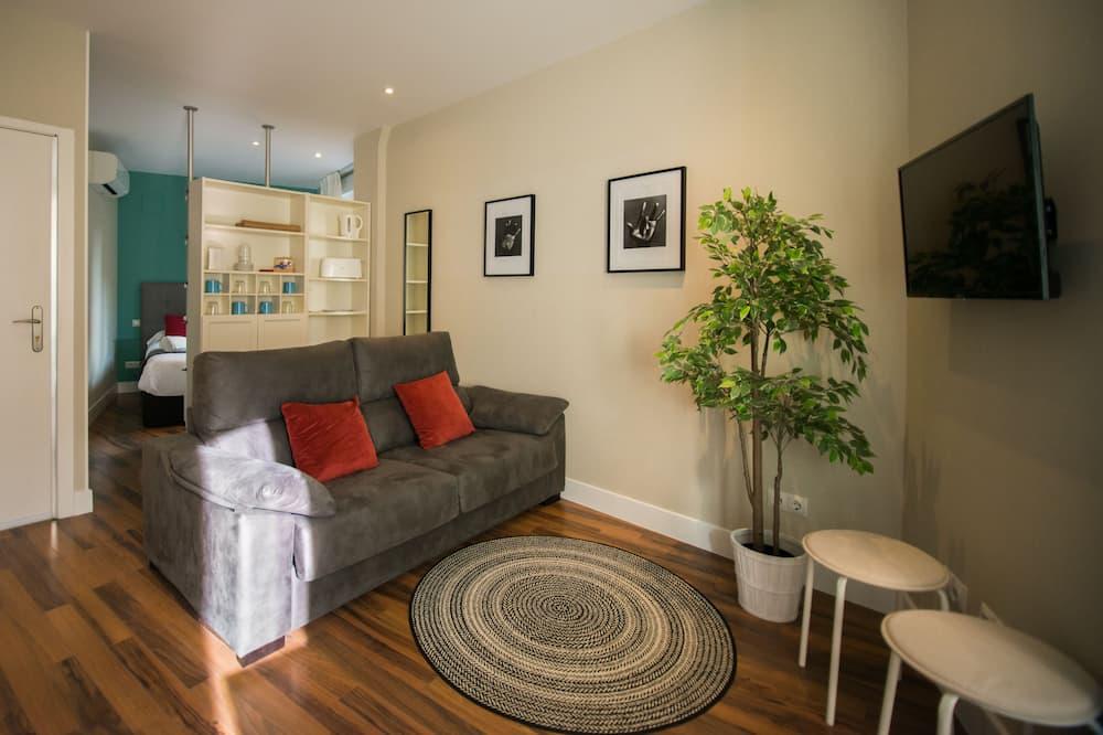 غرفة علوية في المدينة - غرفة معيشة