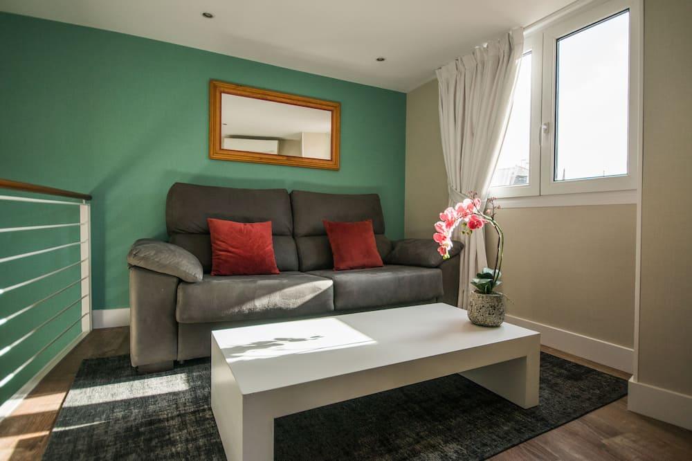 بنتهاوس في المدينة - غرفة معيشة