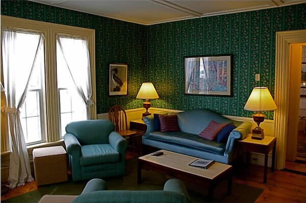 Svit - 1 queensize-säng - Vardagsrum