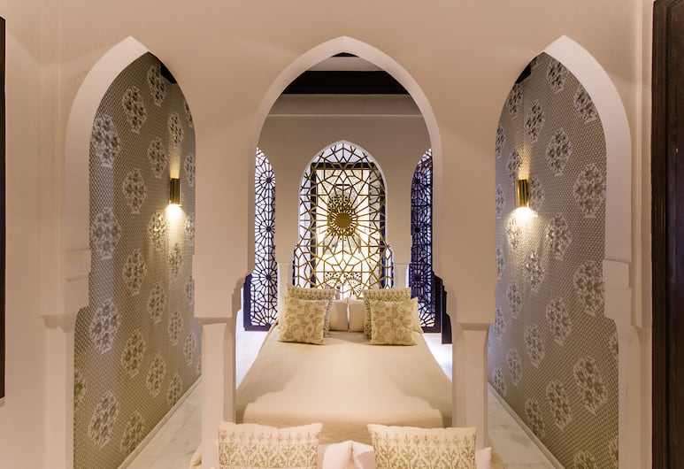 Riad Elisa, Marrakech, Apartament typu Junior Suite, Pokój