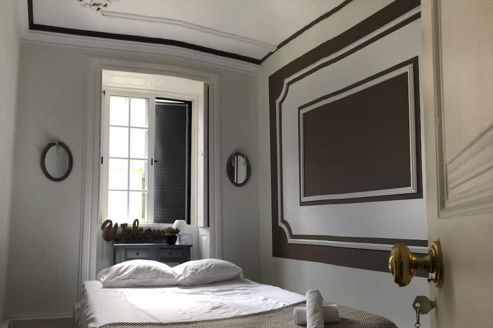 חדר זוגי, חדר רחצה משותף - חדר אורחים