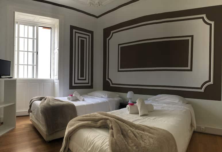 109 號豐沙爾青年旅舍, 芳夏爾, 雙床房, 共用浴室, 客房