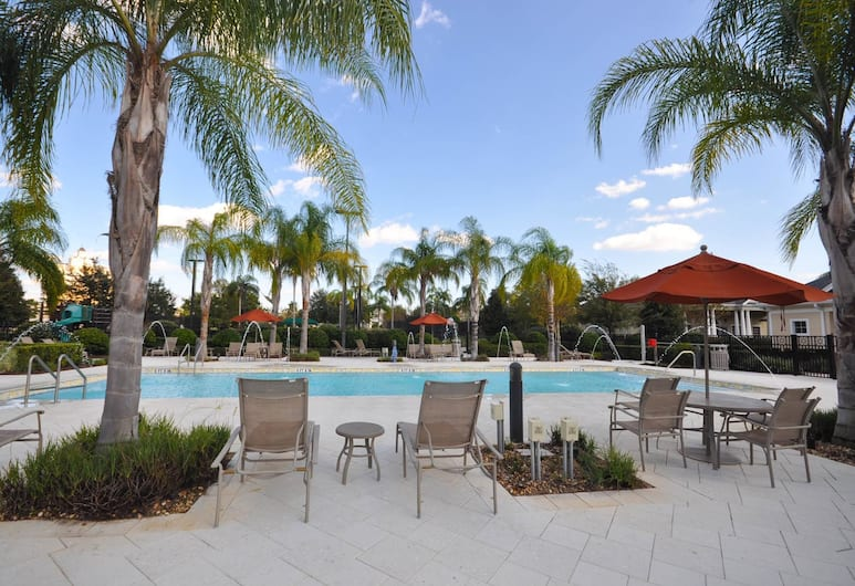 RVH 145 Centre Court Paradise, Kissimmee, Family Condo, 3 Bedrooms, Golf View, Garden Area, Outdoor Pool