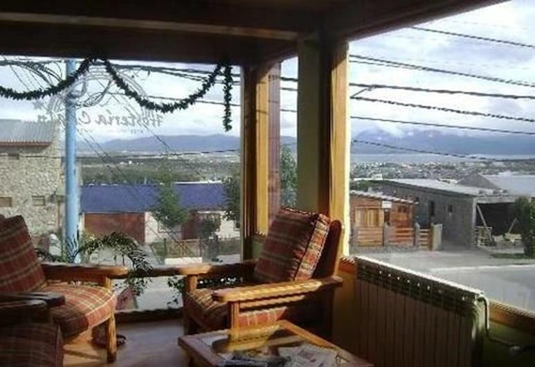 Chalp Hostería, Ushuaia, Zitruimte lobby