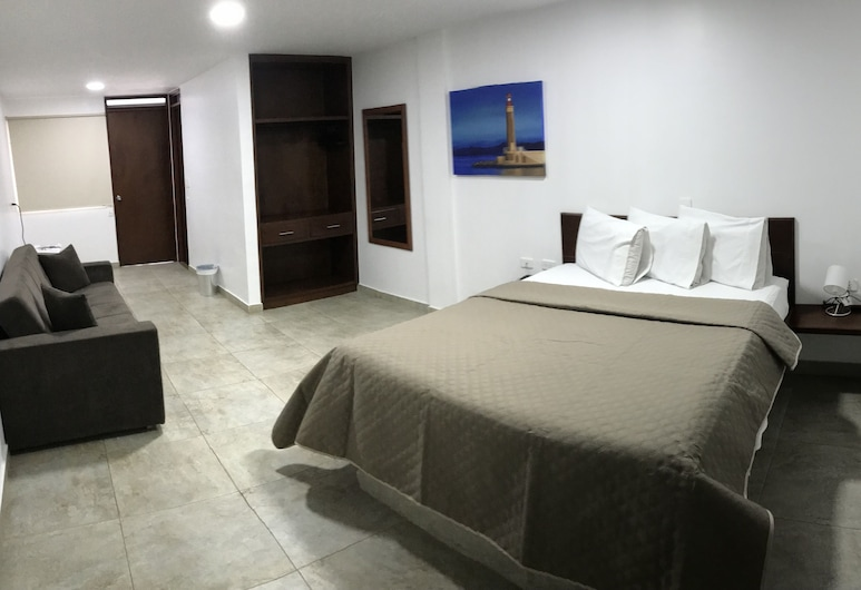 Hotel El Faro Buga, Гвадалахара-де-Буга, Одномісний номер, 1 ліжко «квін-сайз», Номер