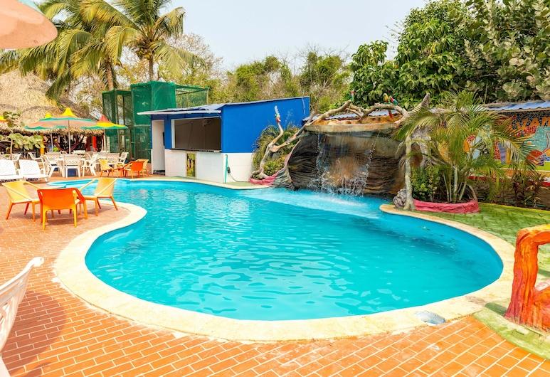 Isla Lizamar, Rosario-øerne, Pool