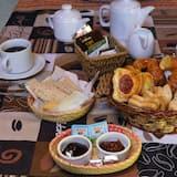 Cabana de Madeira Familiar, várias camas (6) - Refeições no Quarto