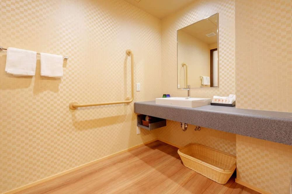 Traditional-Zimmer, Nichtraucher (Japanese-Style, Accessible Room) - Badezimmer