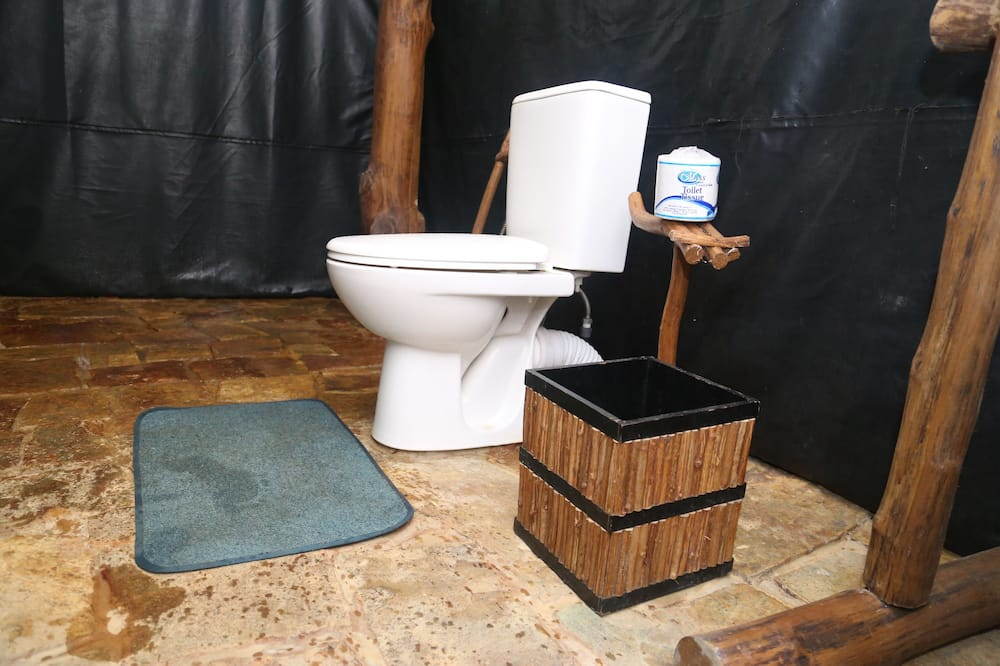Tienda Premium, 1 habitación, mirando al jardín - Cuarto de baño