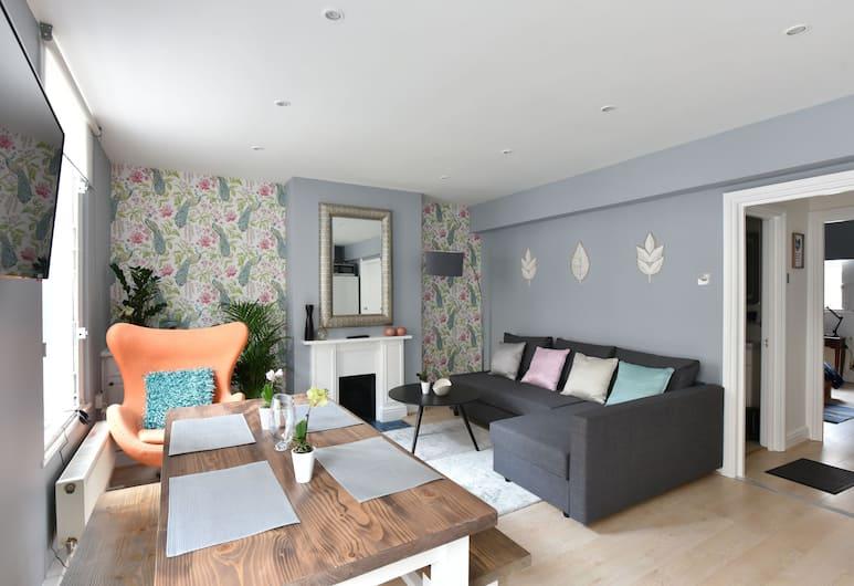 Monopoly Accommodations, London, Premier apartman, 1 hálószobával, Nappali rész