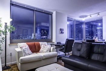 Gambar Ultra Modern Suites Facing Manhattan Skyline di Bandar Raya Jersey