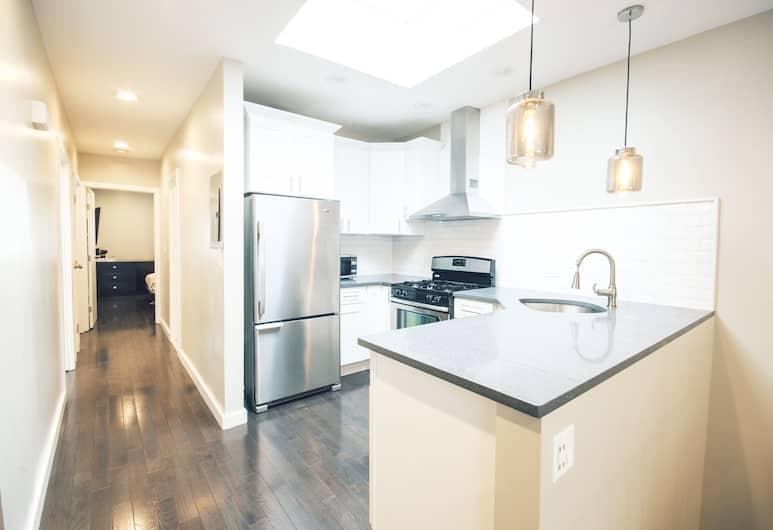 布魯克林區便行公寓, 布魯克林, 都會公寓, 3 間臥室, 非吸煙房, 廚房, 私人廚房