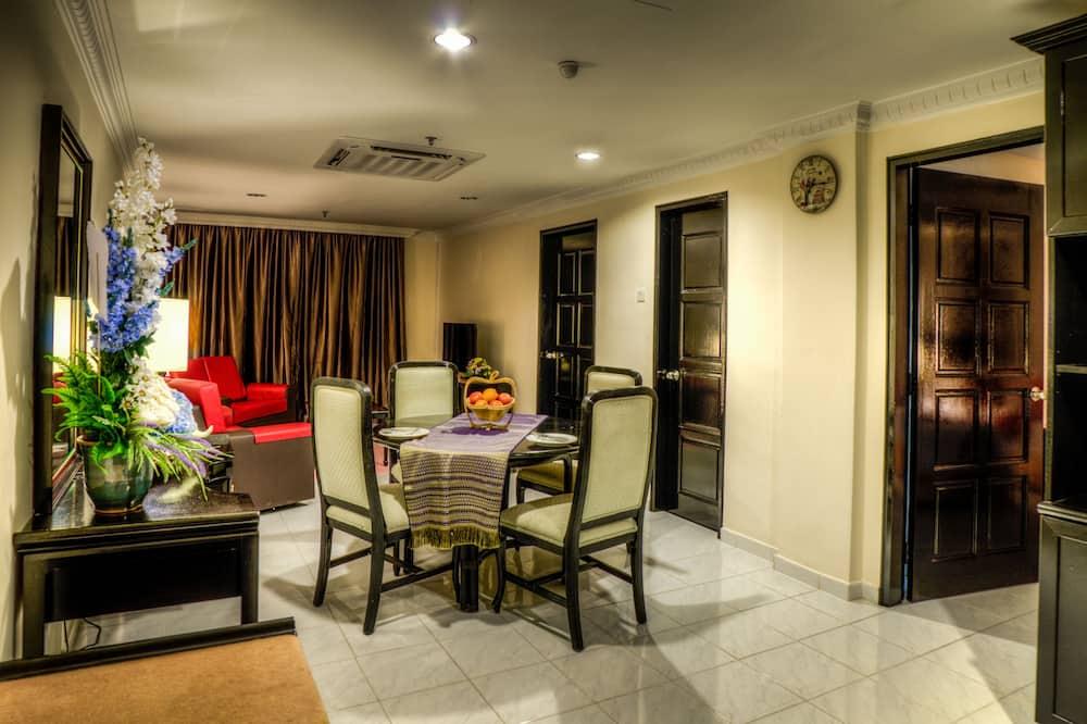 Rodinný apartmán, 2 spálne (Executive) - Obývacie priestory
