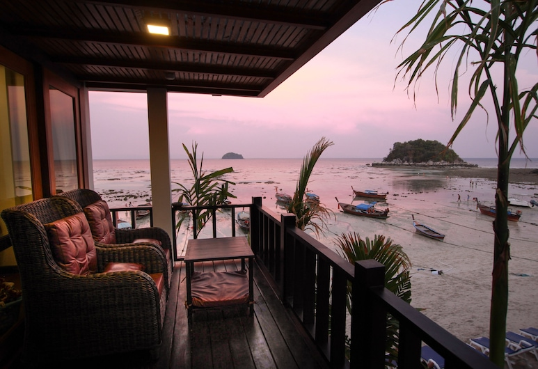 Cabana Lipe Beach Resort, Satun, Deluxe Seaview Room, Terrace/Patio