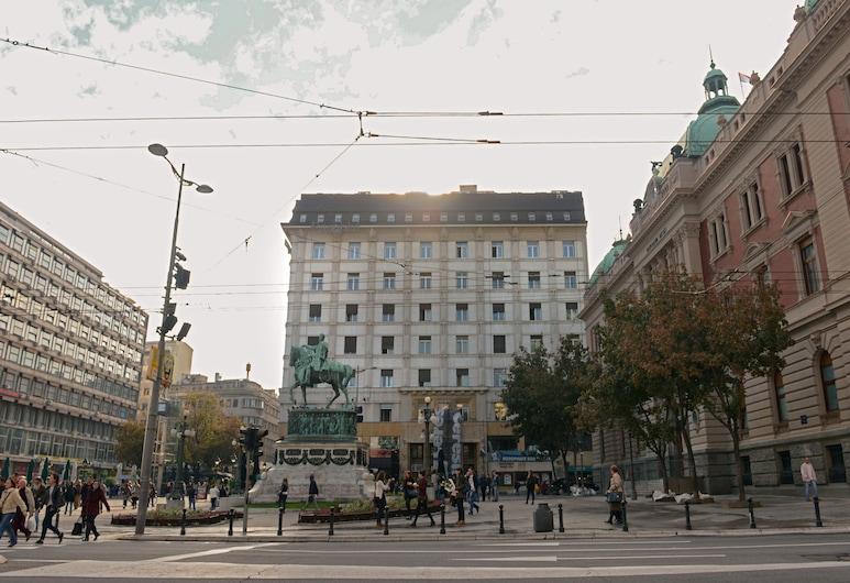 Five Points Square City Center, Βελιγράδι, Θέα από το κατάλυμα
