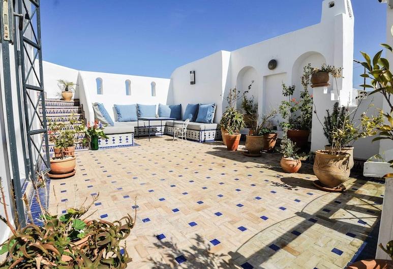 Albarnous Maison d'Hôtes, Tanger, Terrasse/Patio