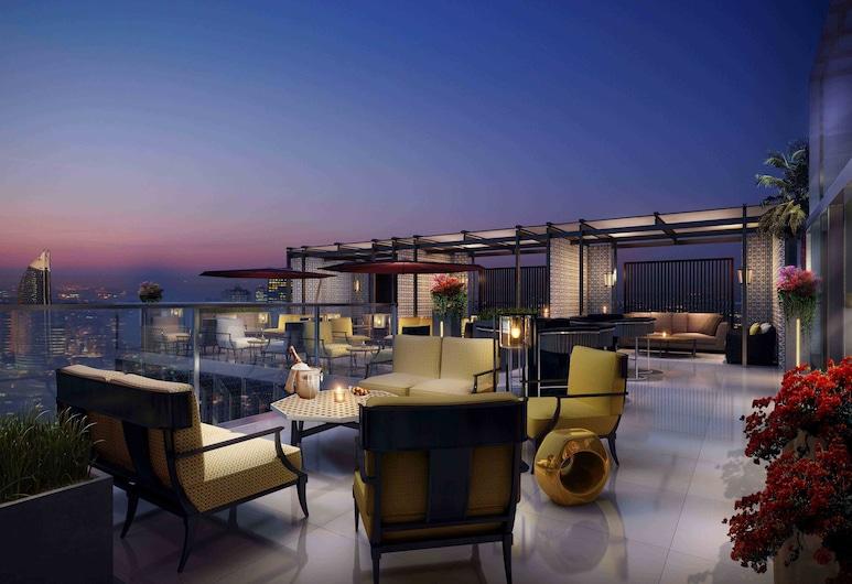 Four Seasons Hotel Dubai International Financial Centre, Dubajus, Terasa / vidinis kiemas