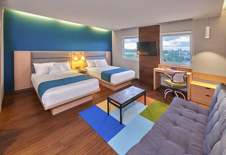 City Suites Silao Aeropuerto, Silao, Habitación superior, 2 camas dobles, Habitación