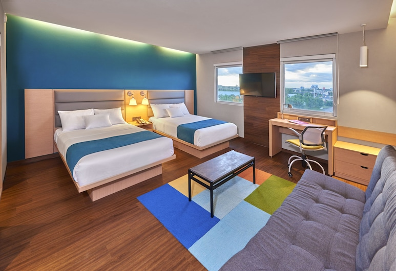 City Suites Silao Aeropuerto, Silao, Quarto Superior, 2 camas de casal, Quarto