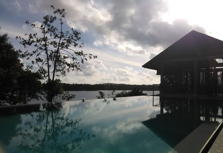 Sea Heart House on Koggala Lake, Koggala, Utsikt fra hotellet