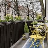 開放式套房, 簡易廚房 - 陽台