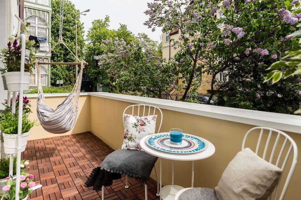 公寓, 陽台 - 陽台
