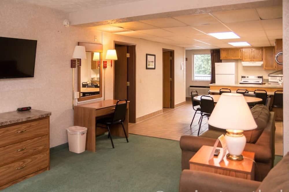 Villa Deluxe, 1 habitación, cocina, vistas al campo de golf - Zona de estar