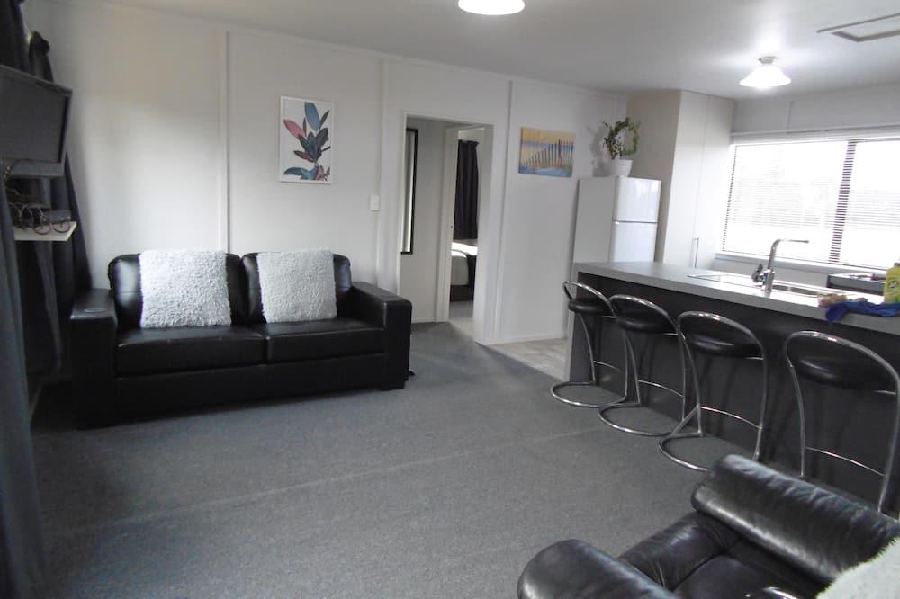 Family Apartment, 2 Bedrooms, Kitchen, Garden Area - Living Area