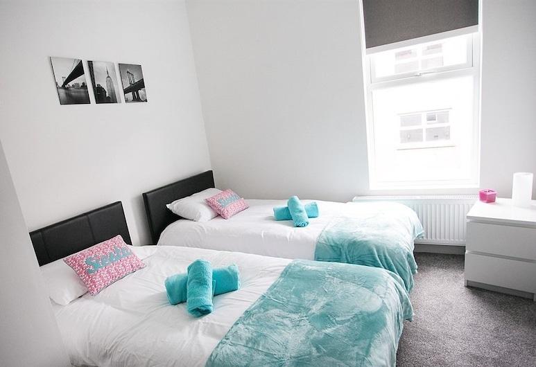 Coast & City Apartments, Belfast, Luksus-lejlighed - privat badeværelse (2 Bed Sleeps 6), Værelse