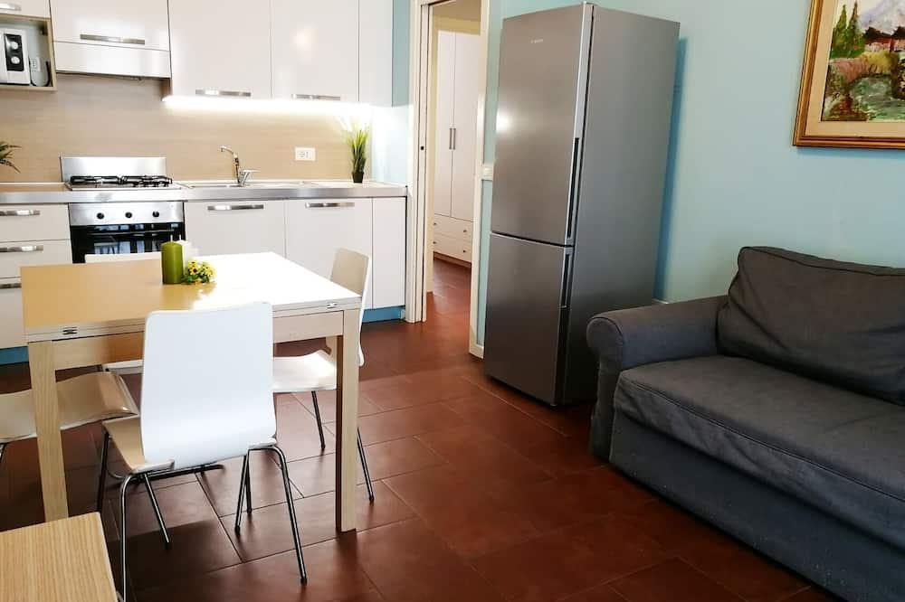 舒適公寓, 2 間臥室, 庭院, 地面層 - 客廳