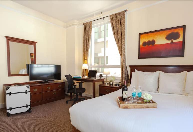 Hotel 32One, סן פרנסיסקו, חדר סטנדרט, מיטה זוגית, חדר אורחים