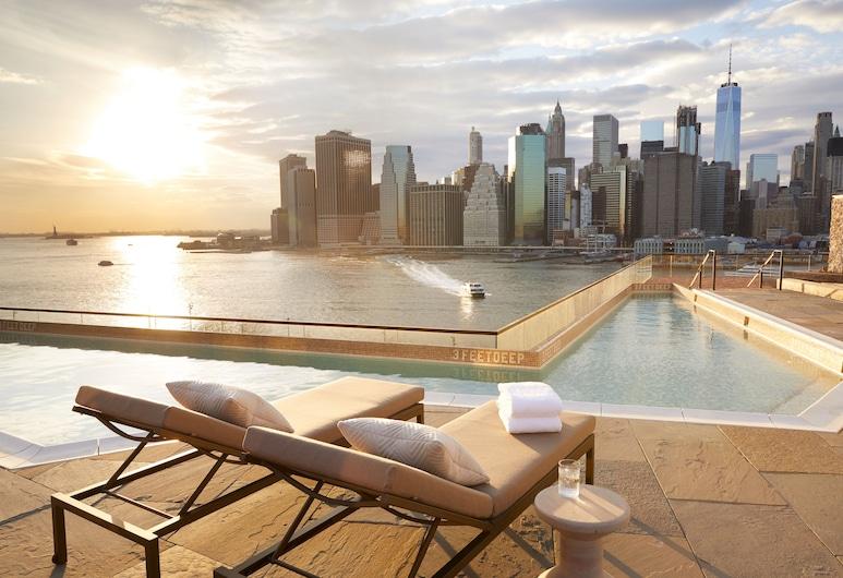 1 Hotel Brooklyn Bridge, Brooklyn, Bazén na střeše