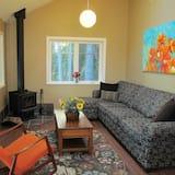 平房, 2 間臥室, 廚房, 花園景觀 - 客廳