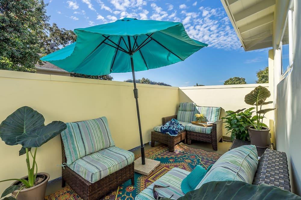 Habitación, 1 cama de matrimonio grande, balcón - Terraza o patio