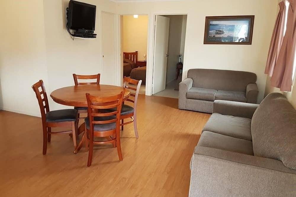 4 Berth Deluxe Cabin - Living Area