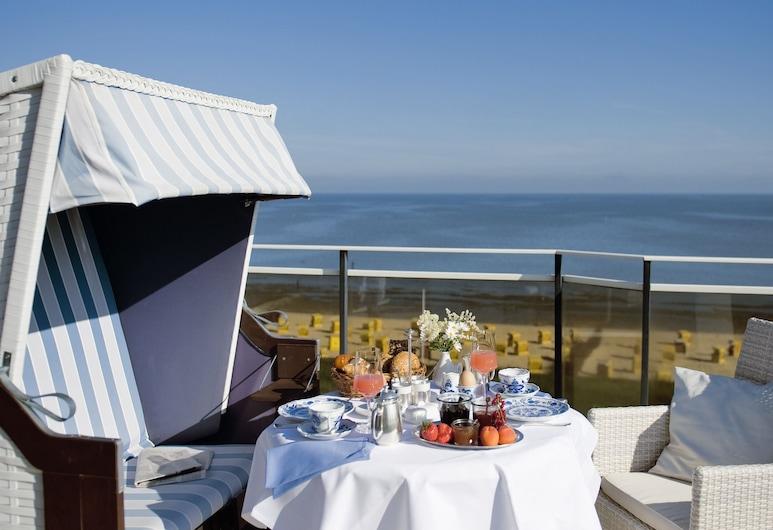 Badhotel Sternhagen, Cuxhaven, Speisen im Freien