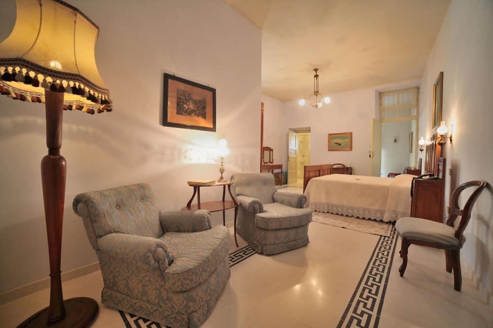 Apartmá s ložnicí a obývacím koutem, terasa (La Forza) - Obývací prostor