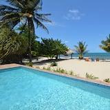 פנטהאוז אקזקיוטיב, 2 חדרי שינה, ללא עישון, נוף לים - נוף לחוף/לאוקיינוס