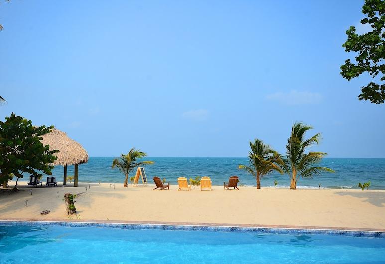 Mariposa Beach Resort, Placencia, Basen odkryty