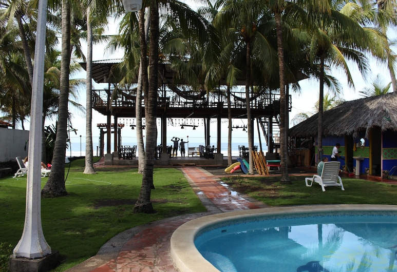 Hotel Sol Bohemio, La Libertad, Pool