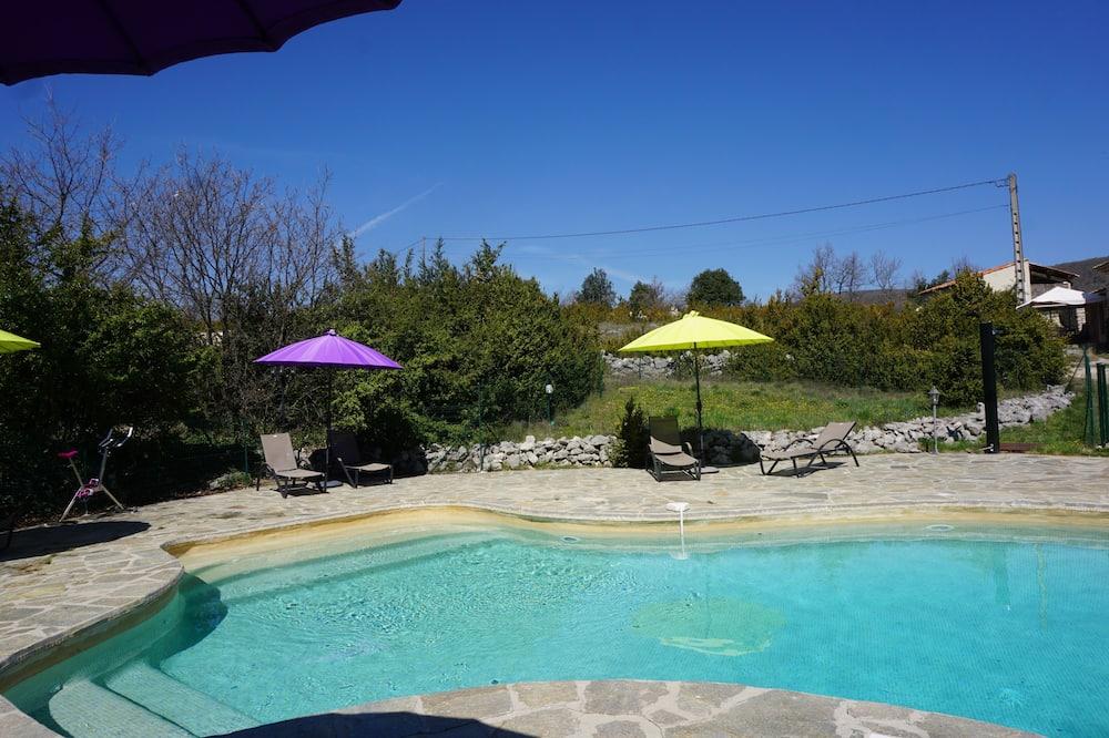 Rekreační domek, soukromá koupelna (Montagne de Lure) - Bazén