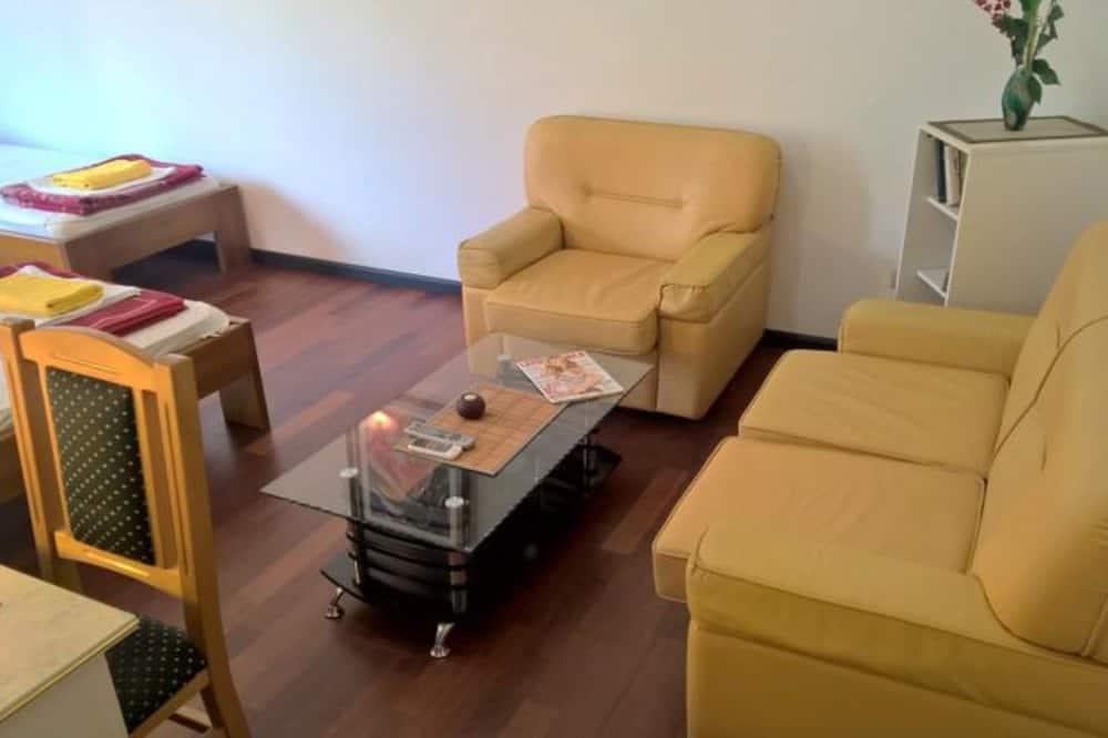 Apartmán typu Deluxe, 3 spálne, terasa - Obývacie priestory