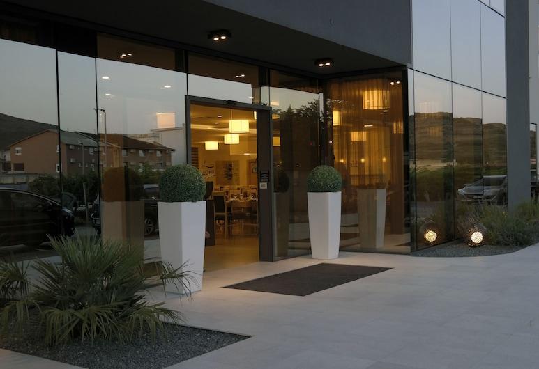 Hotel Leone, Medjugorje, Hotel Front – Evening/Night