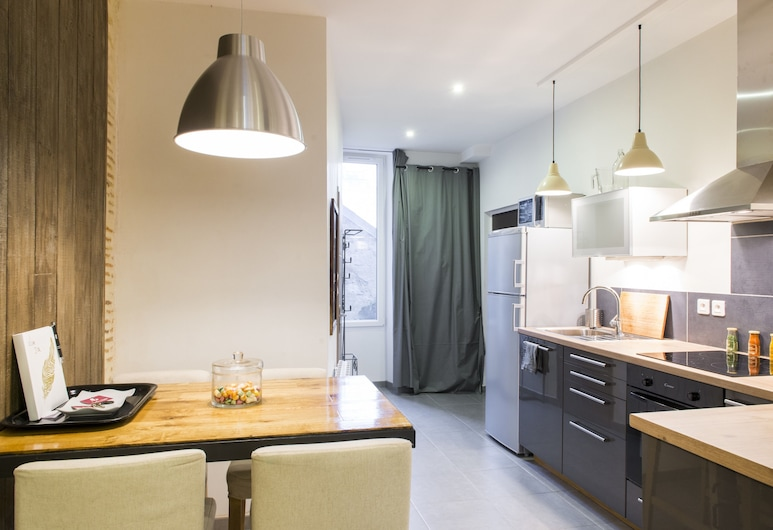 Unsejouranantes - Lamoricière, Nantes, Premium Apartment, 1 Bedroom, Living Room