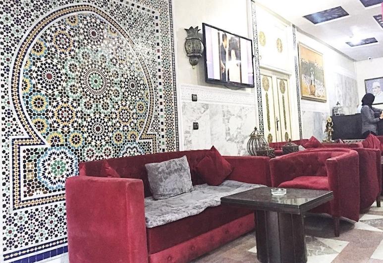 Hotel Les Ambassadeurs, Casablanca, Entrada del vestíbulo