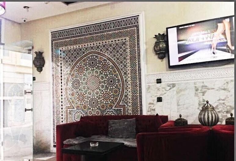 Hotel Les Ambassadeurs, Casablanca, Vestibila uzgaidāmā telpa
