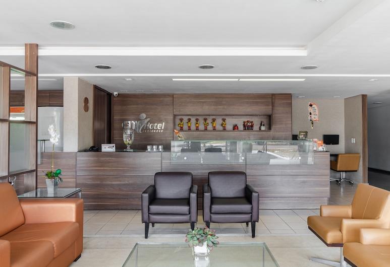 Citi Hotel Residence, Caruaru, Recepcia
