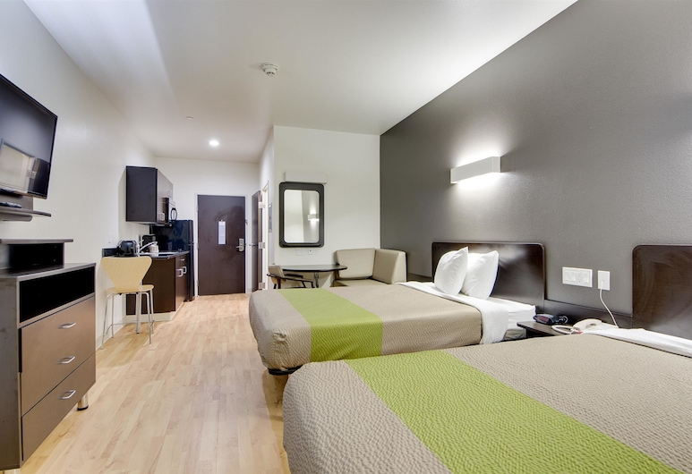 Candlewood Suites Muskogee, Muskogee, Izba typu Deluxe, 2 veľké dvojlôžka, nefajčiarska izba, kuchynka, Hosťovská izba