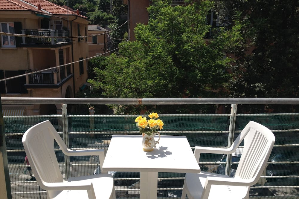 Apartment, 1 Schlafzimmer, barrierefrei, Meerblick (Piazza Colombo 7) - Balkon